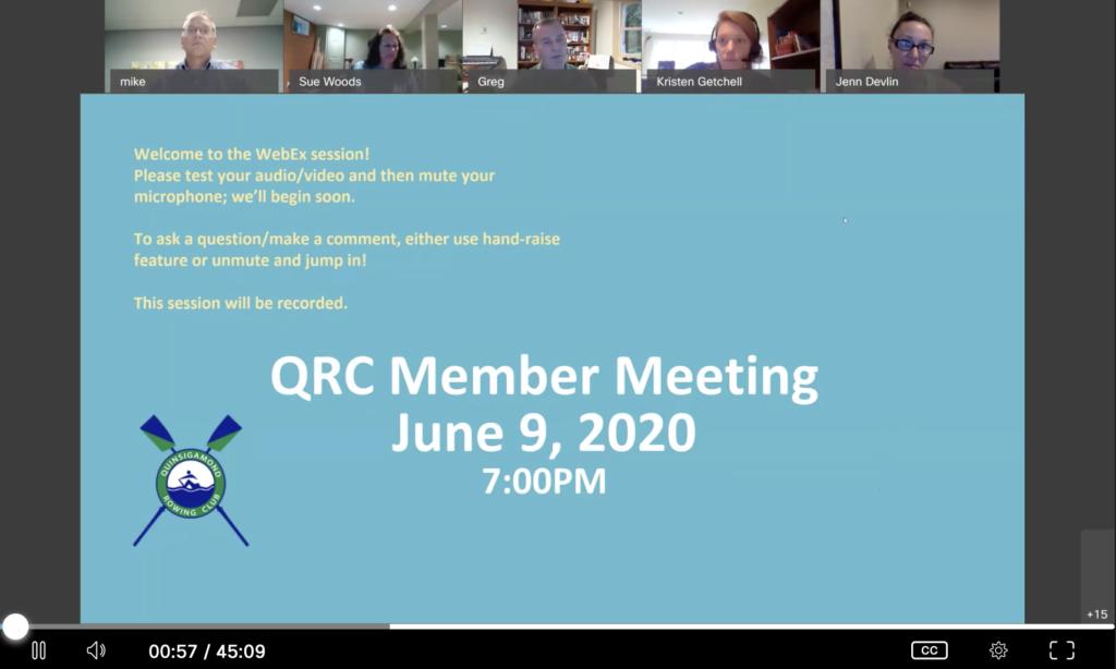 June 9 QRC Meeting